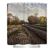 Stop And Ponder  Shower Curtain
