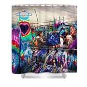 Storefront - Tie Dye Is Back  Shower Curtain