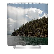 Storm Ahead Lake Tahoe Shower Curtain