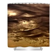 Storm Approaches Shower Curtain