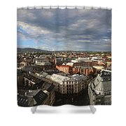 Storm Approaching Oslo Shower Curtain