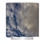 Storm Breaking Up Shower Curtain