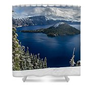 Storm Clearing At Discovery Point Shower Curtain