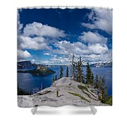 Storm Clearing From Discovery Point Shower Curtain