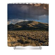 Storm Clearing Over Great Basin Shower Curtain