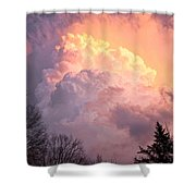 Storm Cloud Moving In On West Michigan Shower Curtain
