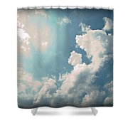 Storm Clouds - 1 Shower Curtain