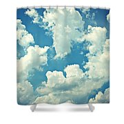 Storm Clouds - 2 Shower Curtain
