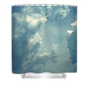 Storm Clouds - 3 Shower Curtain