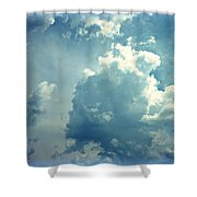 Storm Clouds - 4 Shower Curtain