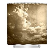 Storm Clouds - 5 Shower Curtain