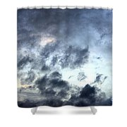 Storm Clouds At Dawn Shower Curtain