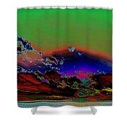 Storm Clouds Rising Photoart II  Shower Curtain