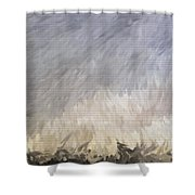 Storm In Life Shower Curtain