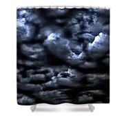 Storm Is Here Shower Curtain