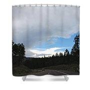 Storm On Mogollon Rim Shower Curtain