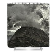 Storm Over Grinnell Shower Curtain