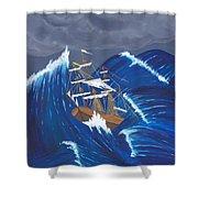 Storm Ravaged Shower Curtain
