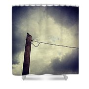 #storm Watcher Shower Curtain