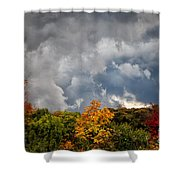 Storms Coming Shower Curtain