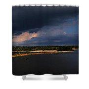 Storms Over Sardis Shower Curtain
