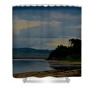 Stormy Morning Series Shower Curtain