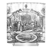 Story Of A Pauper, 1868 Shower Curtain