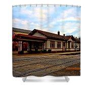 Stoughton Depot Shower Curtain