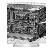 Stove, 1876 Shower Curtain