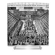 Strafford Trial, 1641 Shower Curtain