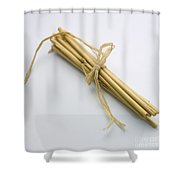 Straid.tied Together Shower Curtain