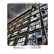 Stralauer Platz 29 - 31  Shower Curtain by Juergen Weiss