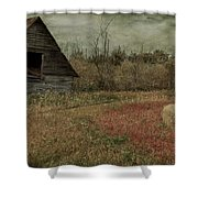 Strawberry Lane  Shower Curtain by Empty Wall