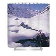 Stream In Warwan Valley Shower Curtain