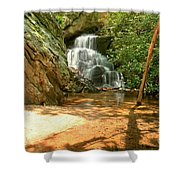 Stream To The Falls Shower Curtain