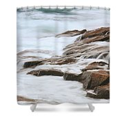 Streaming Seas Shower Curtain