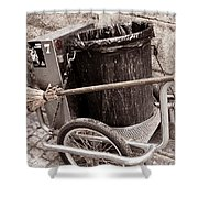 Street Cleaning Kit Shower Curtain