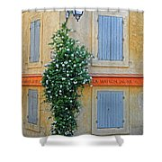 Street Corner In Provence Shower Curtain
