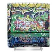Street Graffiti - Tubs IIi Shower Curtain