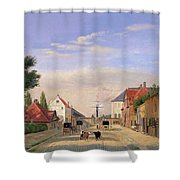 Street Scene Shower Curtain