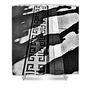 Street To Stone Shower Curtain