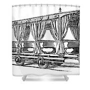 Streetcar, C1880 Shower Curtain