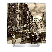 Streets Of Little Italy Shower Curtain