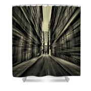 Streets Of Madness Shower Curtain