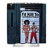 Streets Of New York 1 Shower Curtain