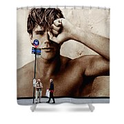 Streets Of New York 10 Shower Curtain