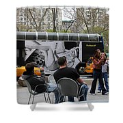Streets Of New York 5 Shower Curtain