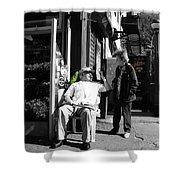 Streets Of New York 8 Shower Curtain