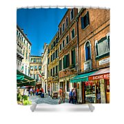 Streets Of Venice Shower Curtain