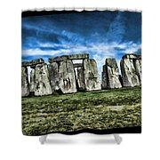 Striking Scene Of Stonehenge Shower Curtain